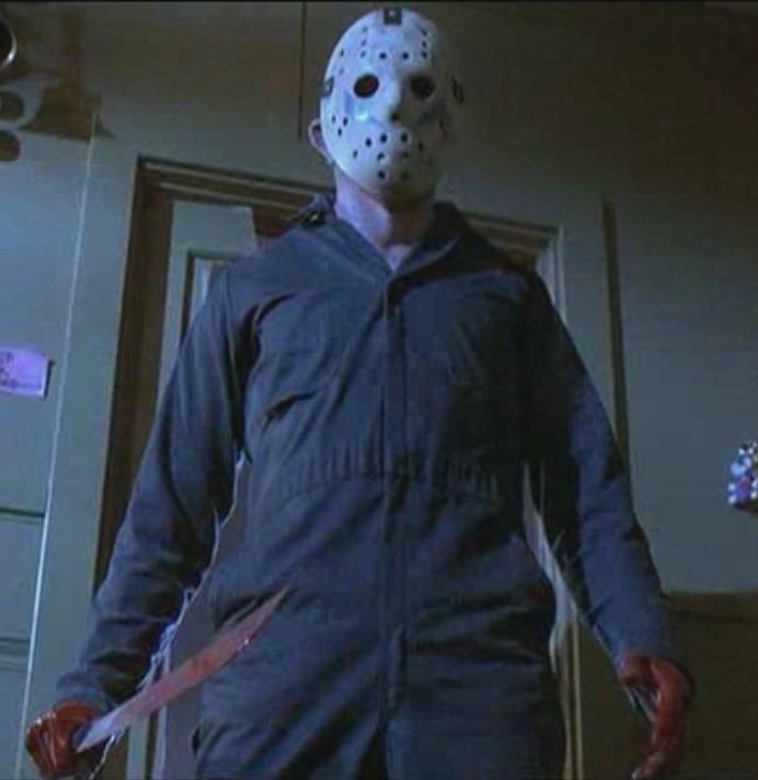 Jason con la maschera nel terzo film